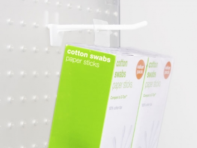 Fold-Up Style Hang Tab for Target's Cotton Swab 2-Pack | Do-It
