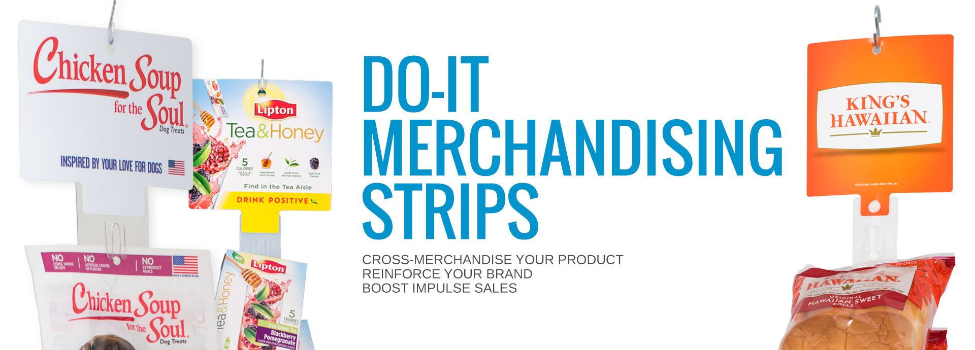 Display Strips for your Products